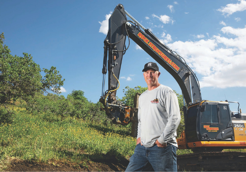 How a Contractor is Making the Grade and Profit with a Laser-Guided 2D System