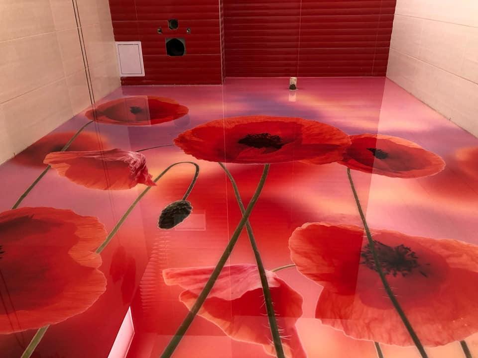 Pardoselile decorative 3D, ultimul trend in materie de amenajari interioare