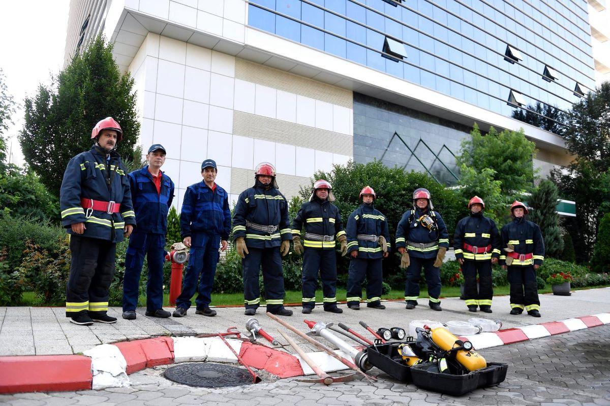 Din grija pentru chiriasi si siguranta angajatilor acestora,  Genesis Property infiinteaza propria echipa de pompieri in Novo Park