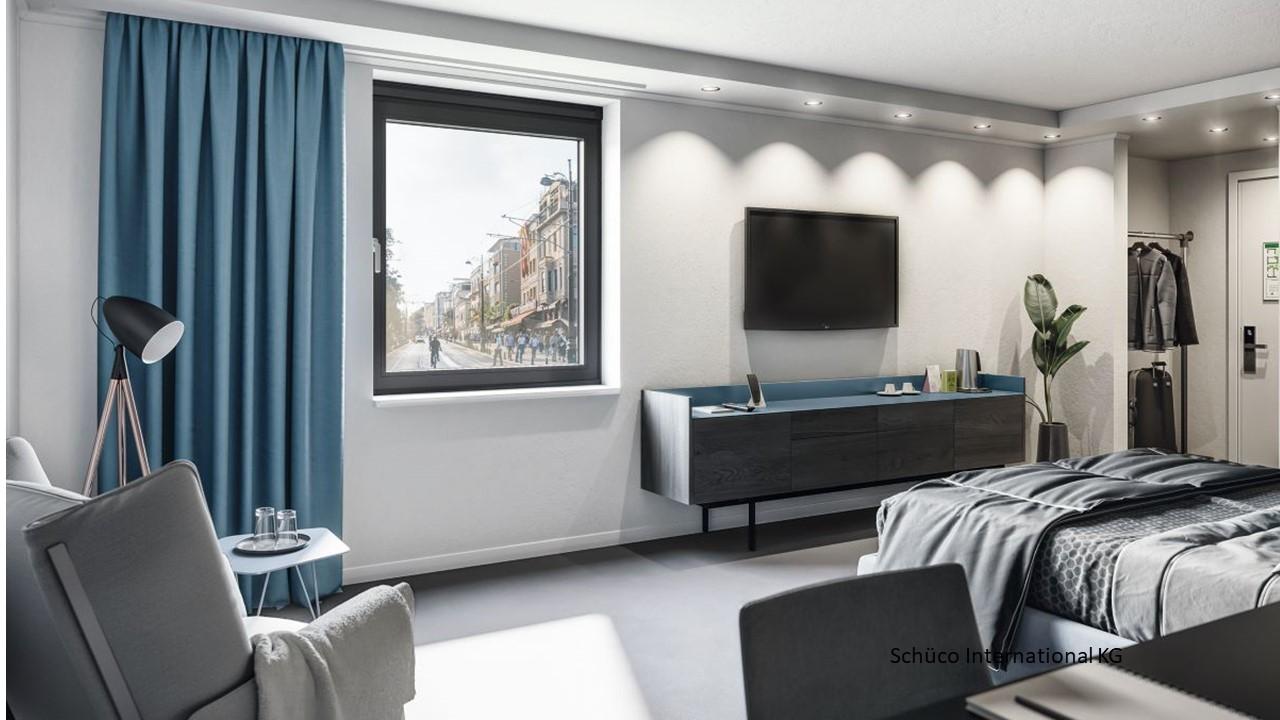 Ventilare confortabila si protectie fonica eficienta cu Schüco VentoFrame Asonic