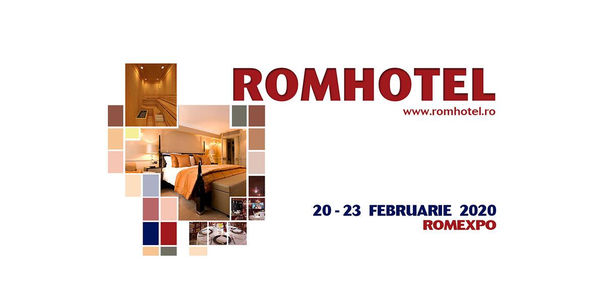 Expozitia internationala de echipamente, mobilier si dotari pentru hoteluri si restaurante – ROMHOTEL