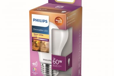 1200.New Philips 60W dimmable LED packaging