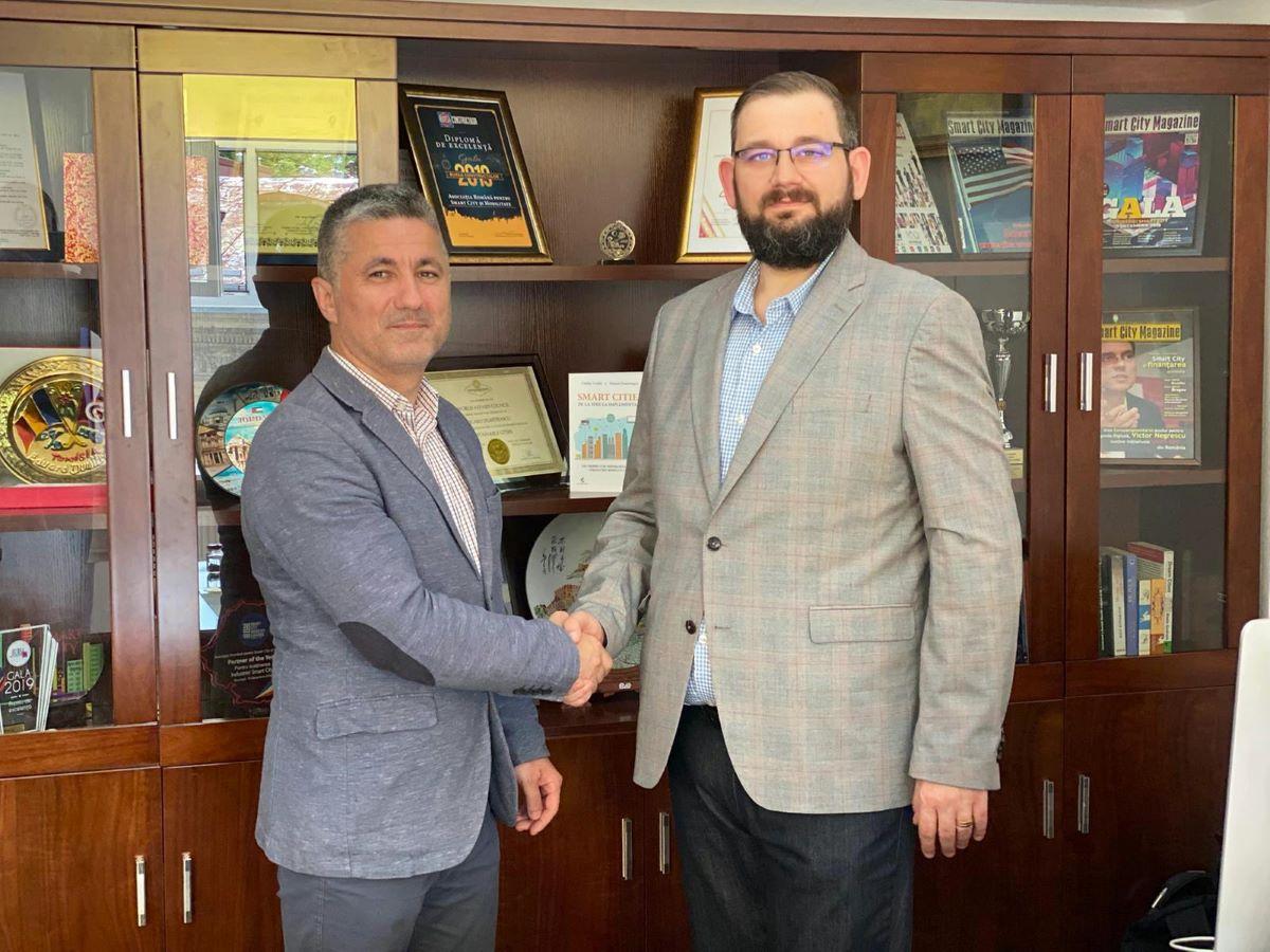 Parteneriat strategic incheiat intre  Asociatia Romana pentru Smart City si  Asociatia Administratorilor Publici din Romania