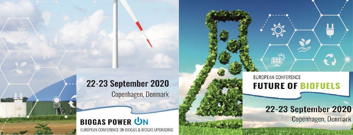 European Conference Future ofBiofuels2020 22-23 September 2020,Copenhagen, Denmark Crowne Plaza Copenhagen Towers
