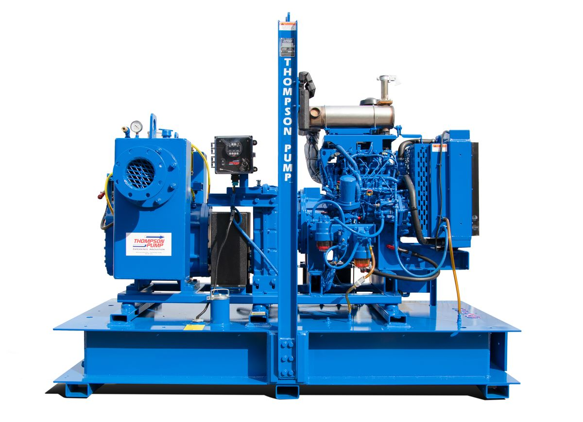 Thompson Pump Adds New Pump to its  Rotary Wellpoint Lineup