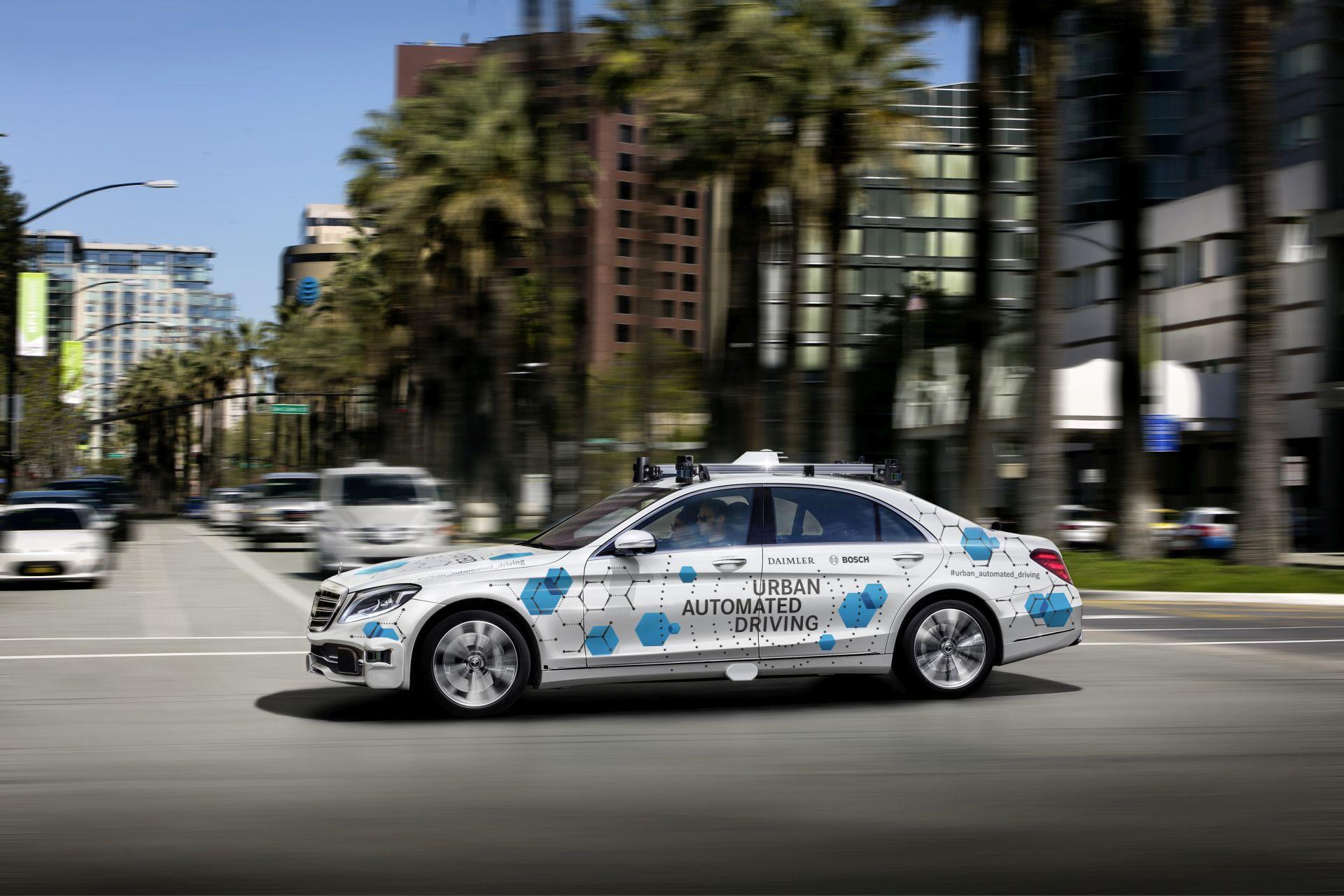 Bosch si Daimler: San José este vizat pentru a deveni oras-pilot pentru un serviciu automat, la cerere, de comanda a autovehiculelor