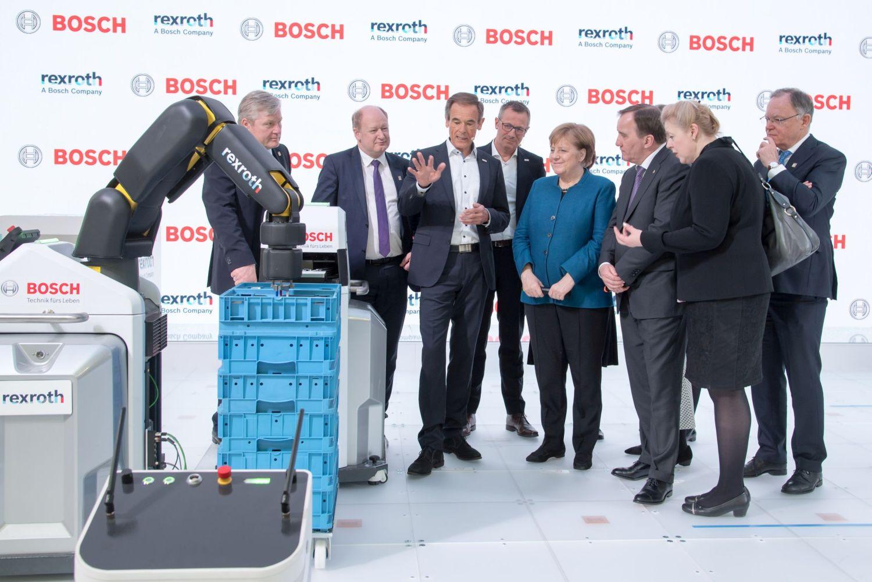 Bosch a inregistrat vanzari de ordinul miliardelor cu Industria 4.0