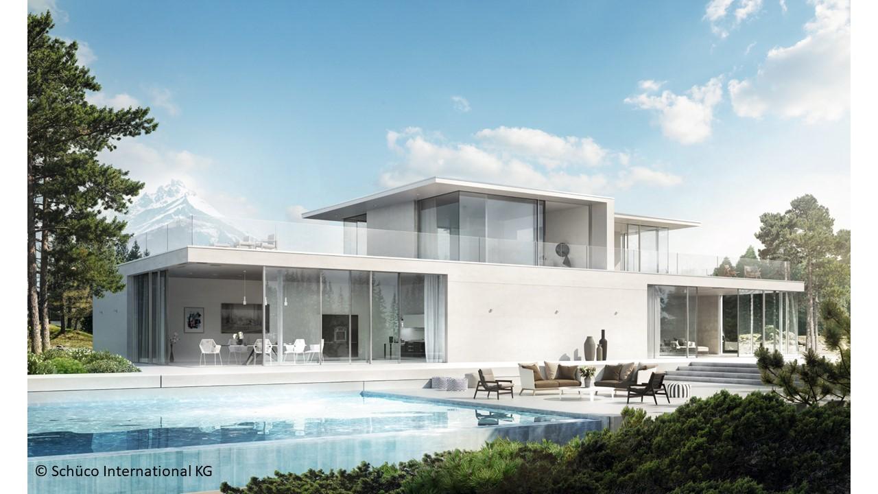 Noile usi glisante Schüco Panorama Design redefinesc starea de bine