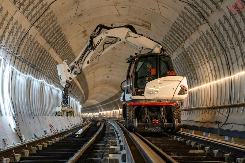 MECALAC strengthens its commitment to the Rail Segment and Enlarges its offer with a Brand New Range of 4 machines: The MRail-Series