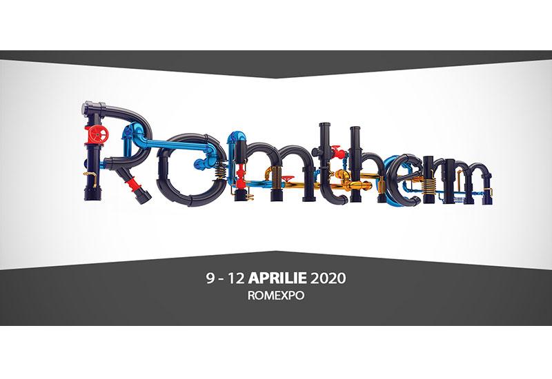 ROMTHERM – Expozitia internationala pentru instalatii, echipamente de incalzire, racire si de conditionare a aerului