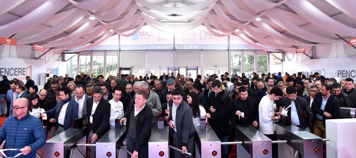 Eurasia Window, Door & Glass 2020 Fairs Hosted 55107 Industry Professionals