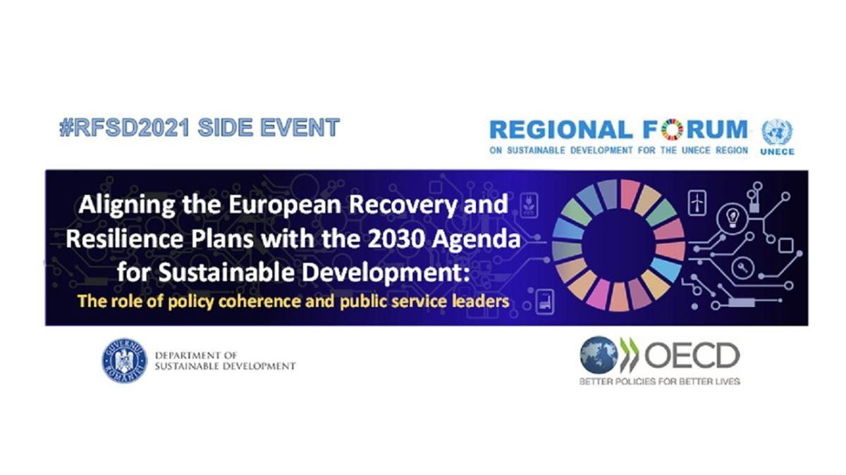 Forumul Regional pentru Dezvoltare Durabilă 2021
