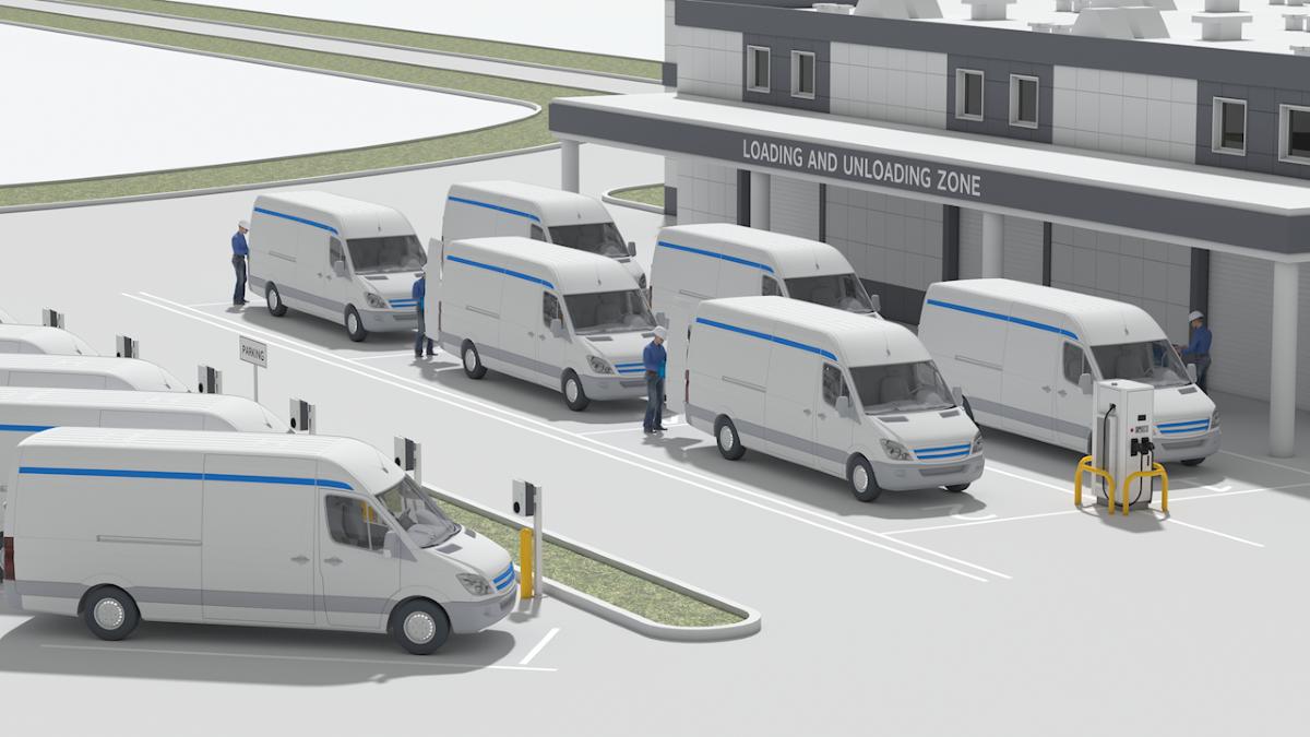 ABB si Amazon Web Services conduc flotele auto catre un viitor complet electric