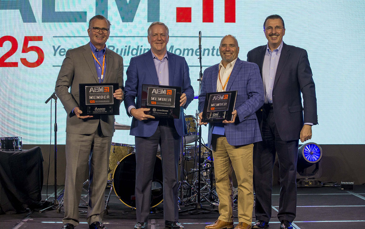 AEM Honors Companies for Longtime Industry Service