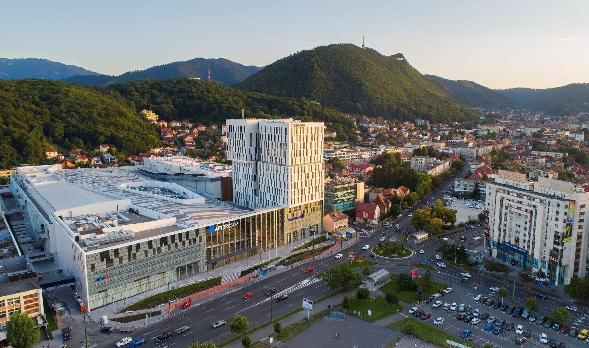 AFI Brasov este singurul proiect mixt din Europa certificat LEED Gold Core & Shell in ultimul an