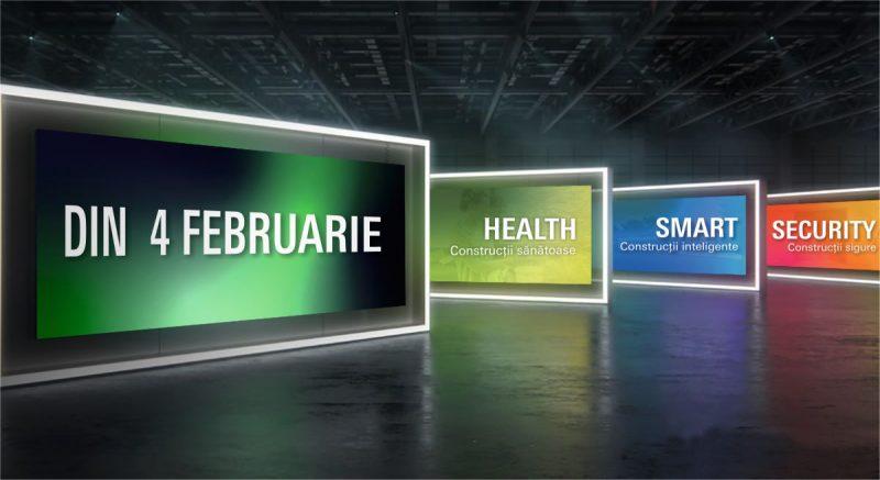 Un an –Expozitie permanenta– Nenumarate inovatii!Schüco, Jansen si Warema