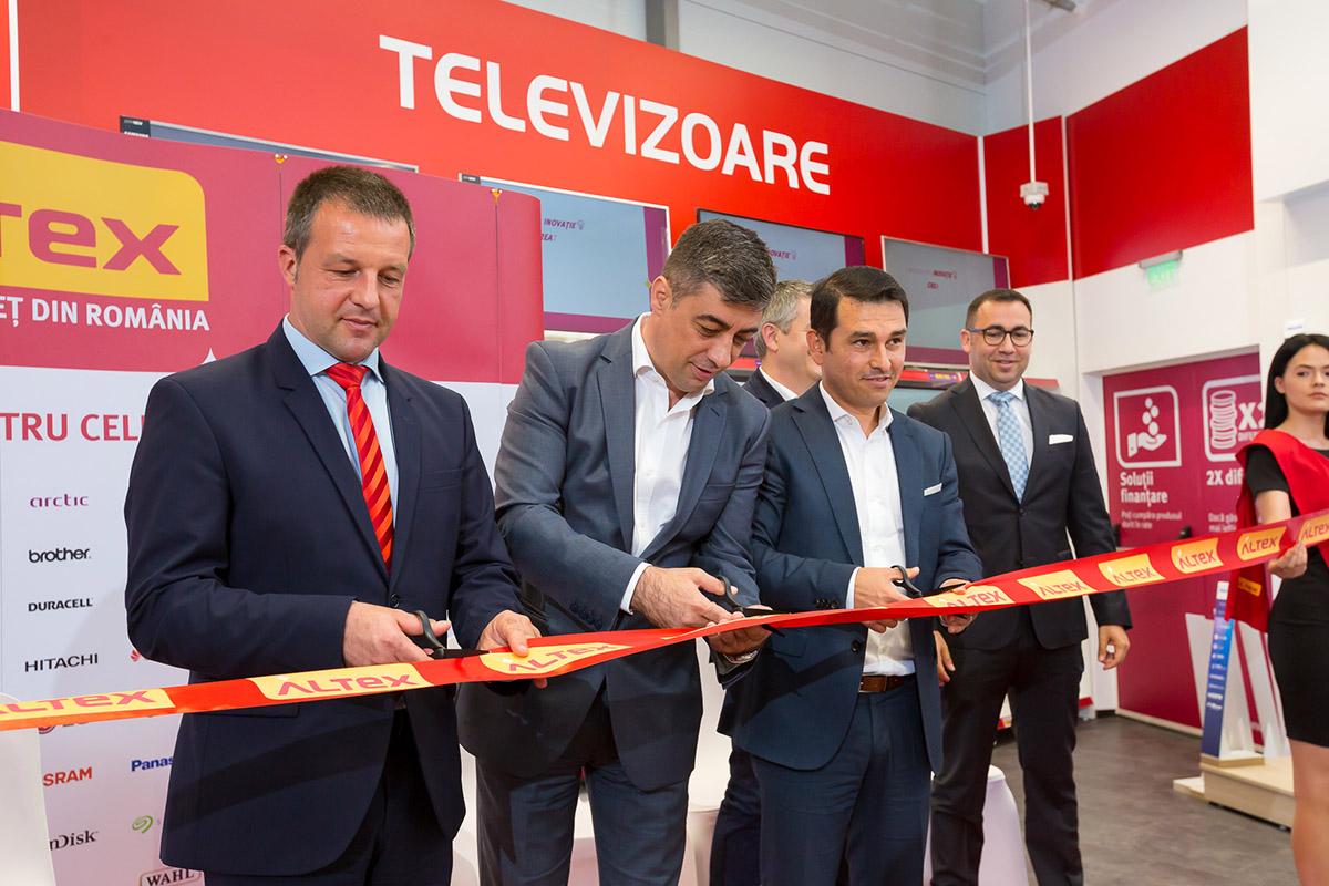 Investitie ALTEX de 5,3 MIL euro pentru inaugurarea unui nou concept: CENTRU de SERVICII in magazinul cu numarul 101 al retelei nationale