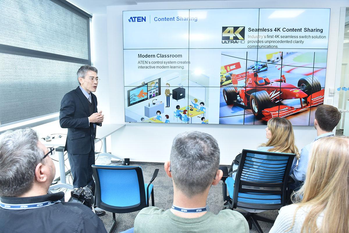 ATEN lanseaza biroul local din Romania  printr-un eveniment de training introductiv