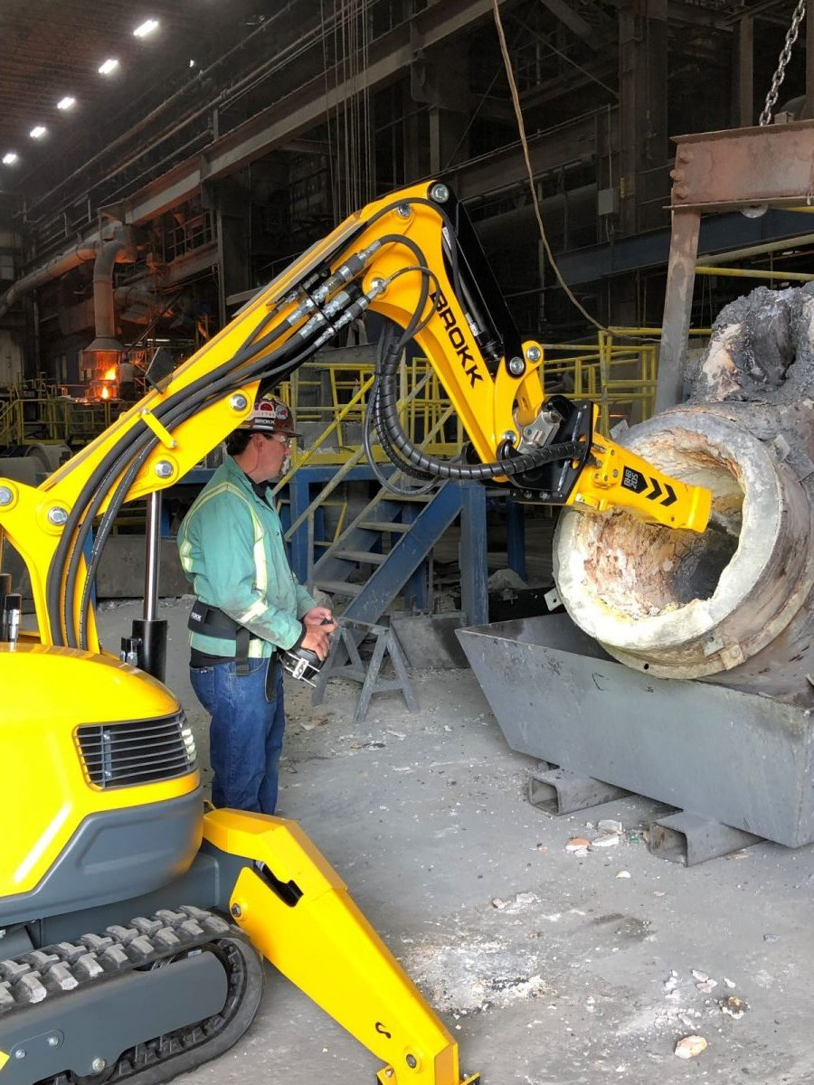 Brokk Offers Customized Options  for High Heat Environments