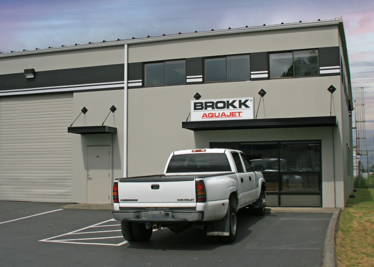 Brokk Relocates Washington State Facility  for Increased Service