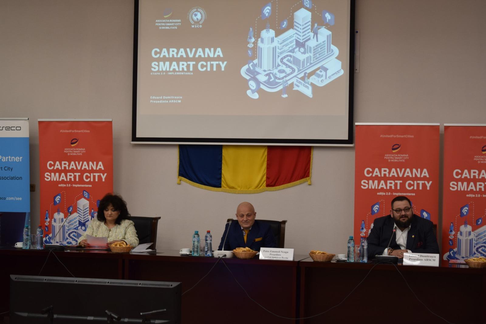 Buzaul este interesat de accelerarea implementarii proiectelor de tip Smart City