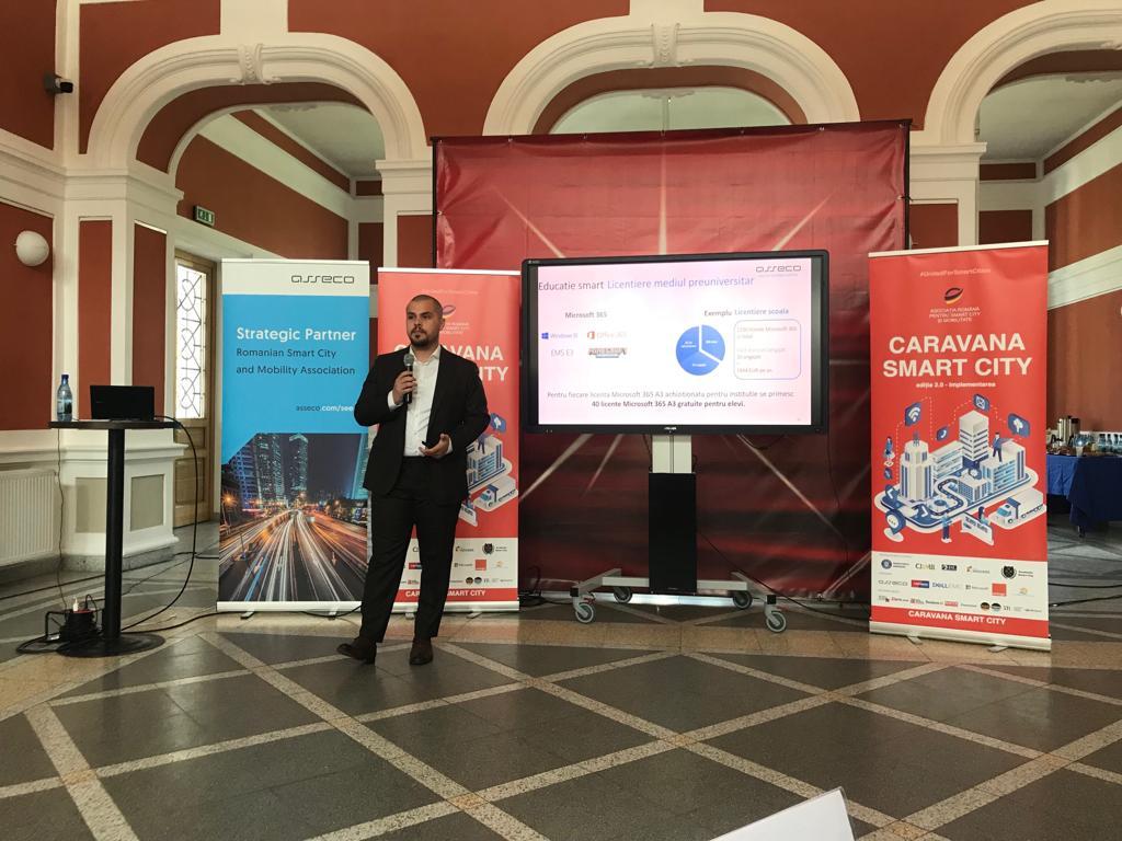Proiect de 500 milioane de euro lansat in cadrul Caravanei Smart City – etapa Cluj-Napoca