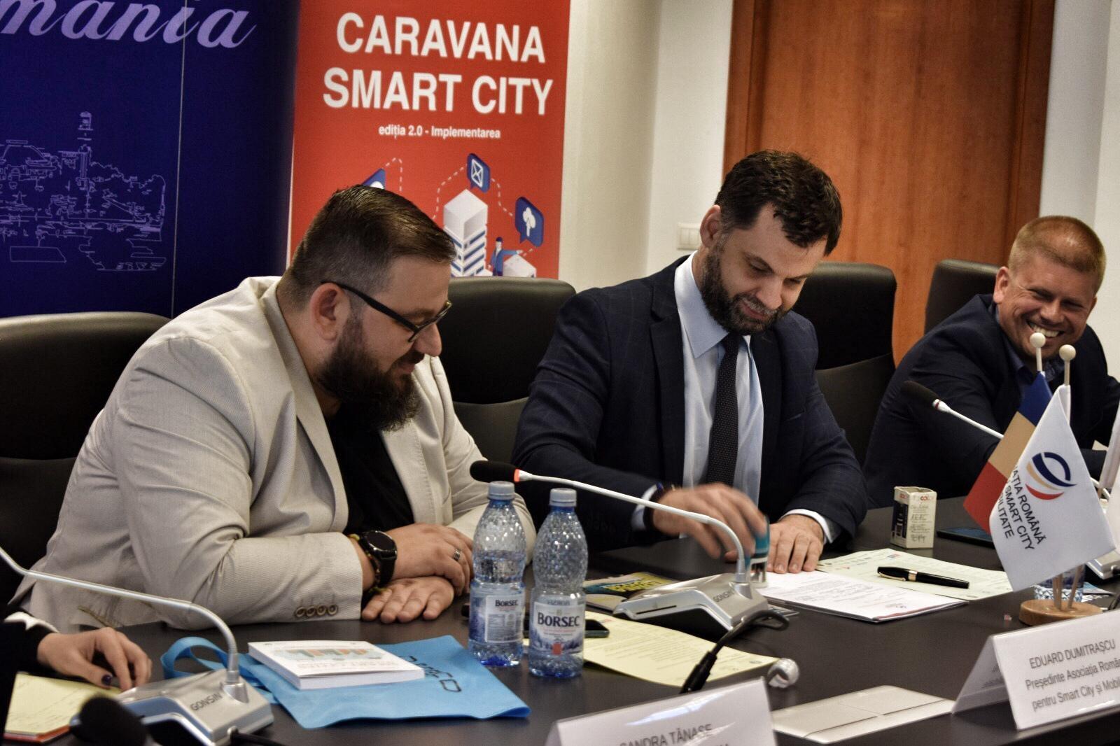 Primaria Municipiului Ploiesti a anuntat in Caravana Smart City dezvoltarea mai multor proiecte pilot