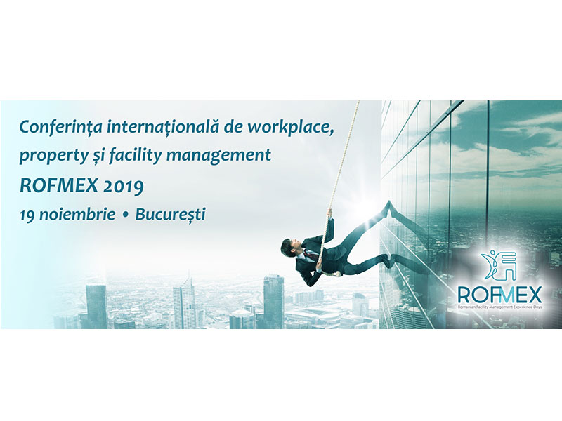 People, Performance, Professionalism. Conferinta Internationala de Workplace, Property si Facility Management
