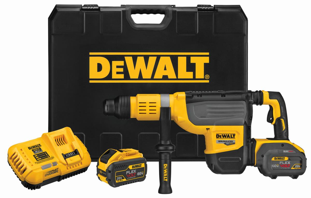 DEWALT® Adds to Rotary Hammer Lineup at World of Concrete® 2019