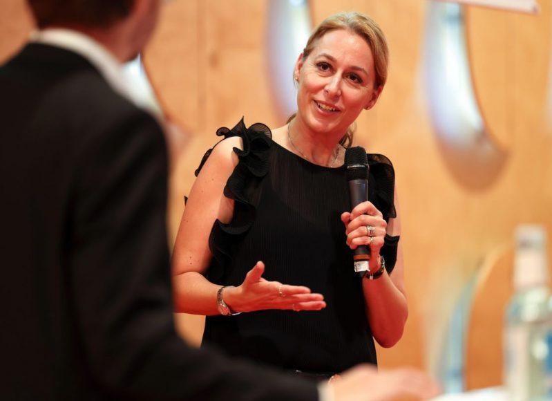 DGNB-Pressebild-Dr.-Christine-Lemaitre-am-Tag-der-Nachhaltigkeit-2020