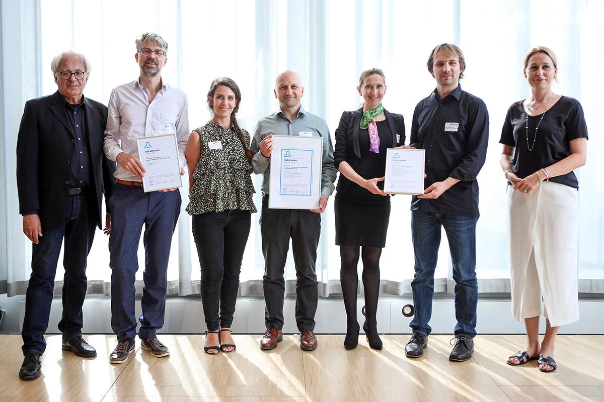 BauCycle, Green Hydrogen Esslingen und DAW gewinnen DGNB Sustainability Challenge 2019