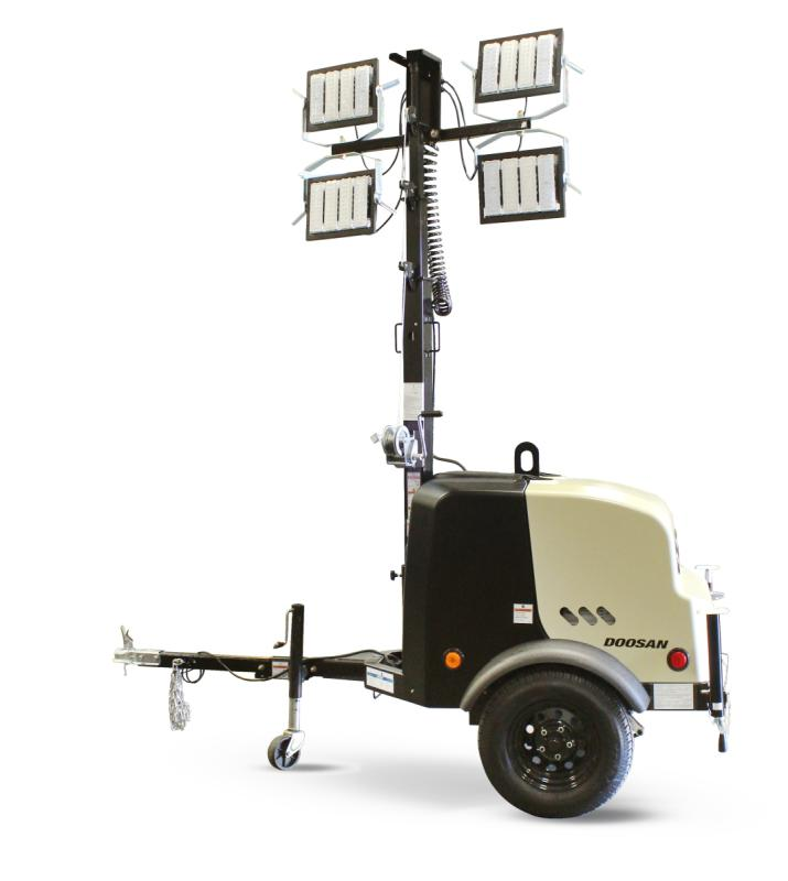 DOOSAN PORTABLE POWER INTRODUCES NEW   LIGHT TOWERS WITH INDUSTRY-LEADING RUNTIME
