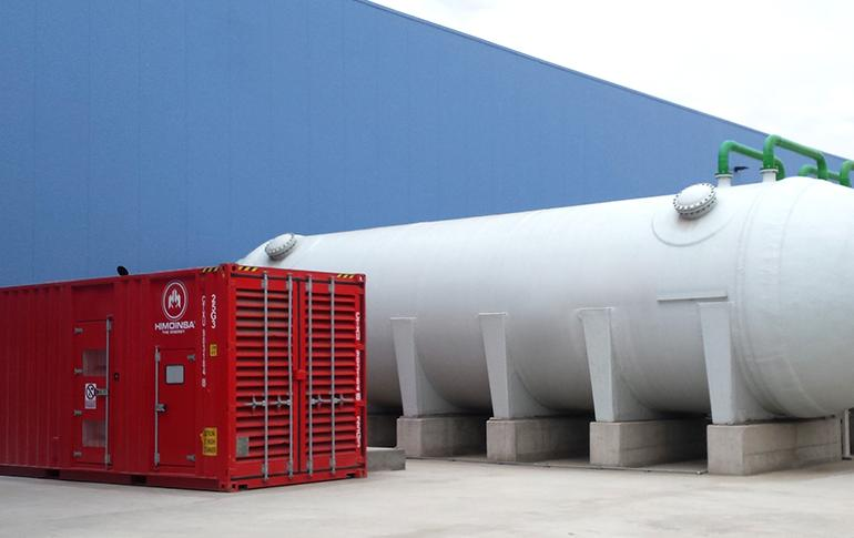 EMERGENCY ENERGY IN A DESALINATION PLANT THAT SUPPLIES THE WATER NETWORK WITH 250 LITRES OF WATER PER SECOND
