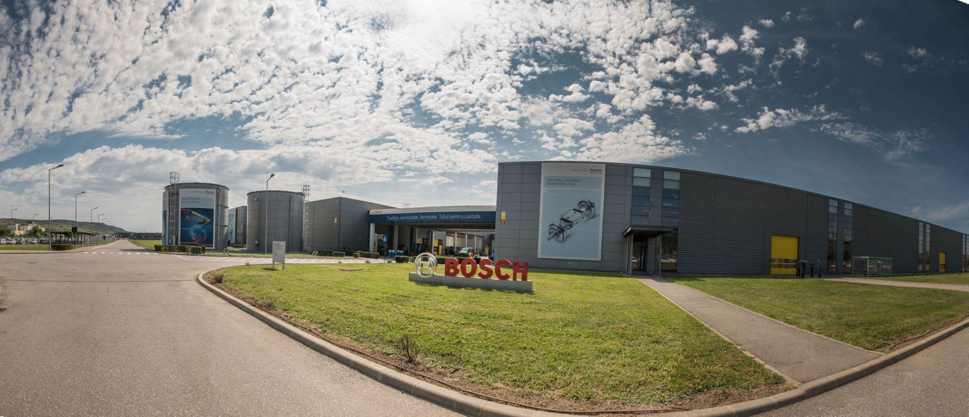 Fabrica Bosch din Blaj a echipat un laborator dedicat pregatirii tehnice a studentilor