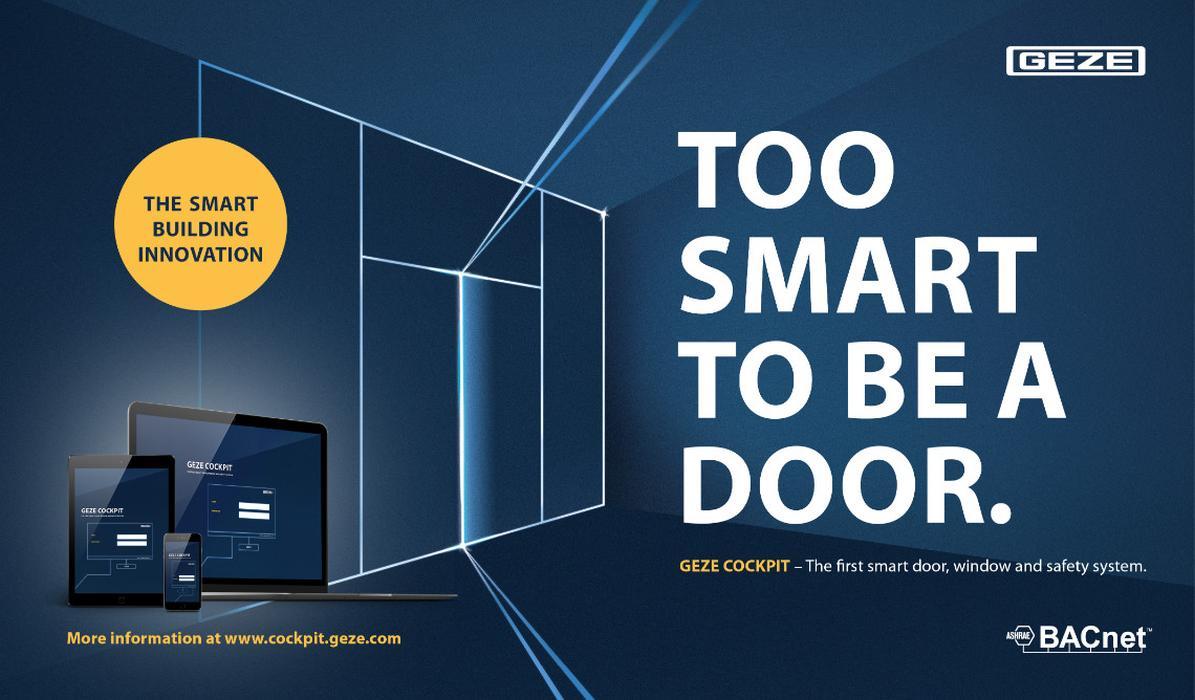 GEZE participă la Târgul BAU 2019 cu noi soluții pentru clădiri inteligente