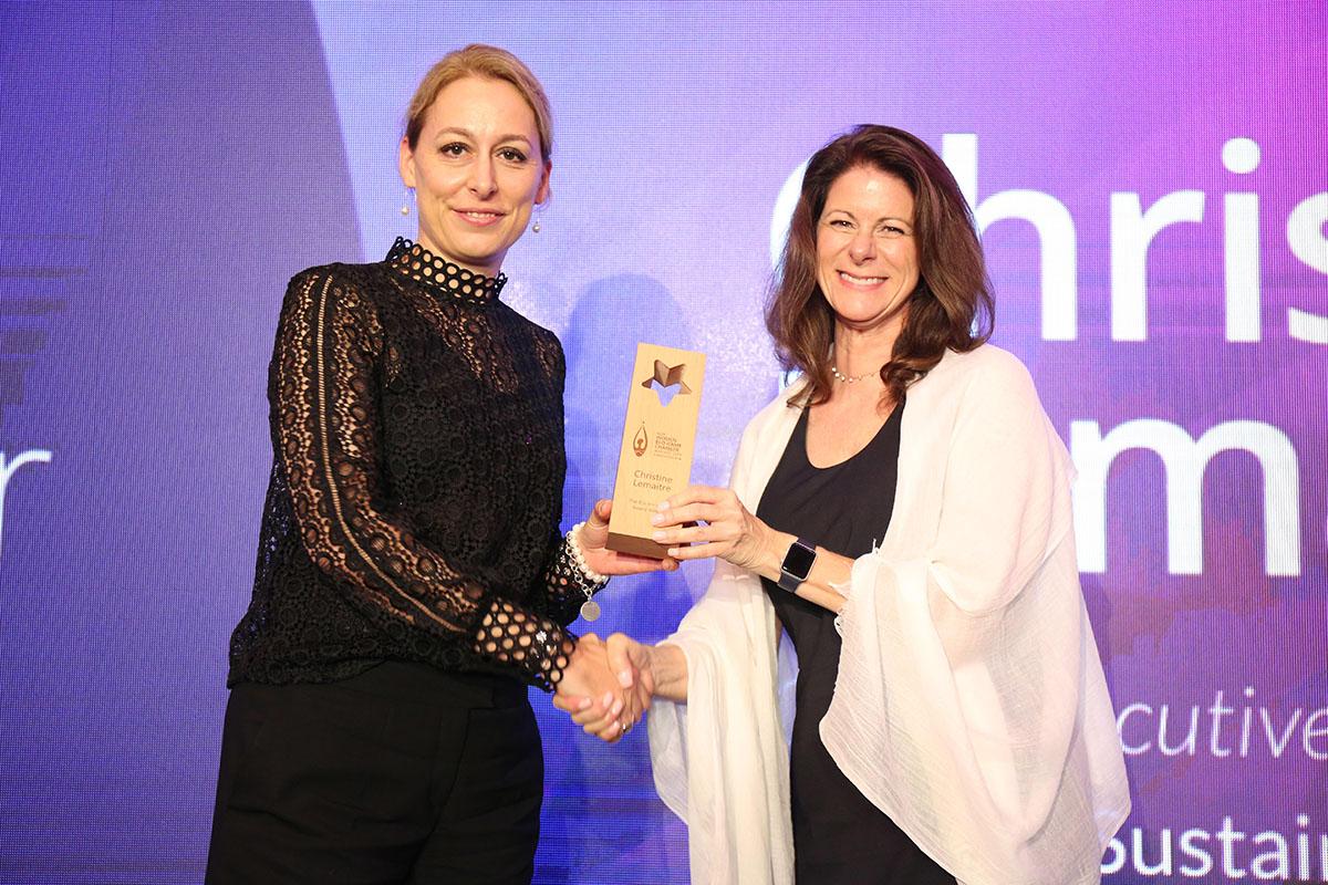 Internationale Auszeichnung für DGNB Vorstand Christine Lemaitre