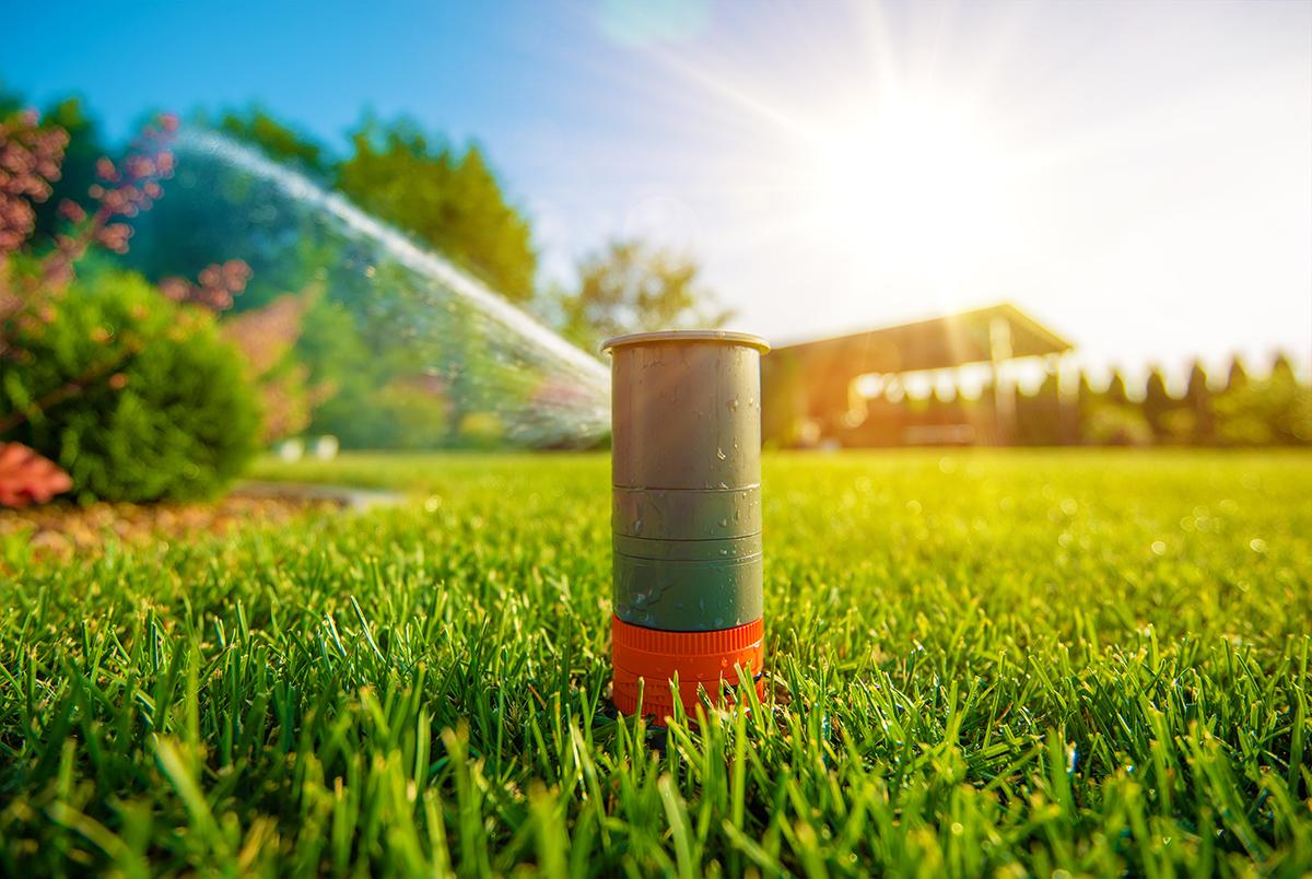 De primavara: Grupuri de pompare fluide pentru irigarea amenajarilor peisagistice si a gazonului