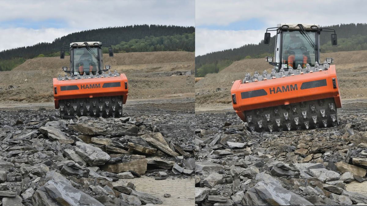 Hamm   VC compactors save time and money
