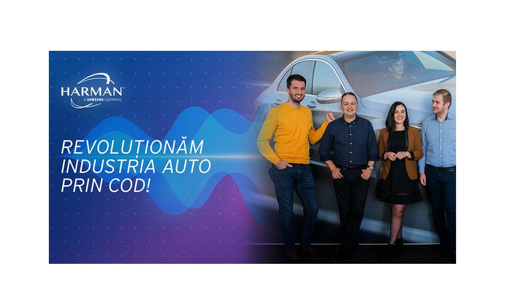 HARMAN Romania extinde cel mai mare centru de dezvoltare auto din Bucuresti si recruteaza 20 de programatori in echipa de Telematica
