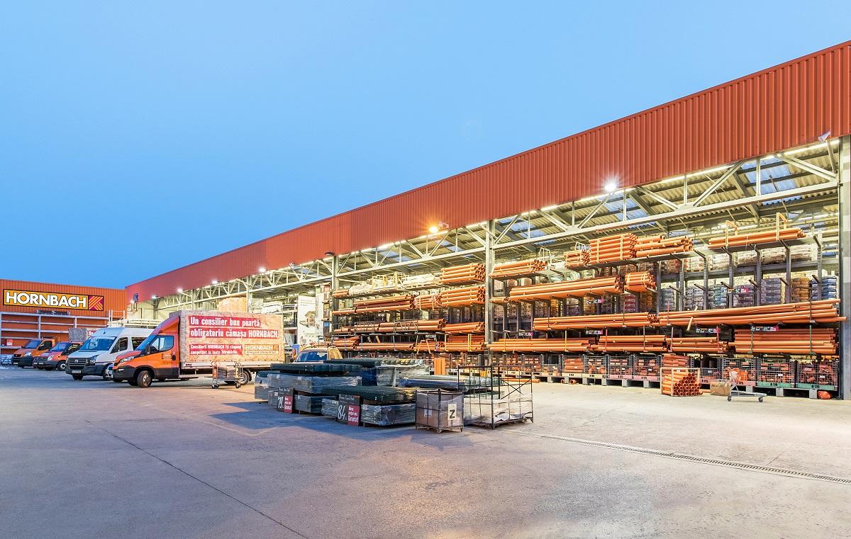Conceptul Drive In din magazinele HORNBACH – succesul unui proiect complet si complex de constructii si amenajari