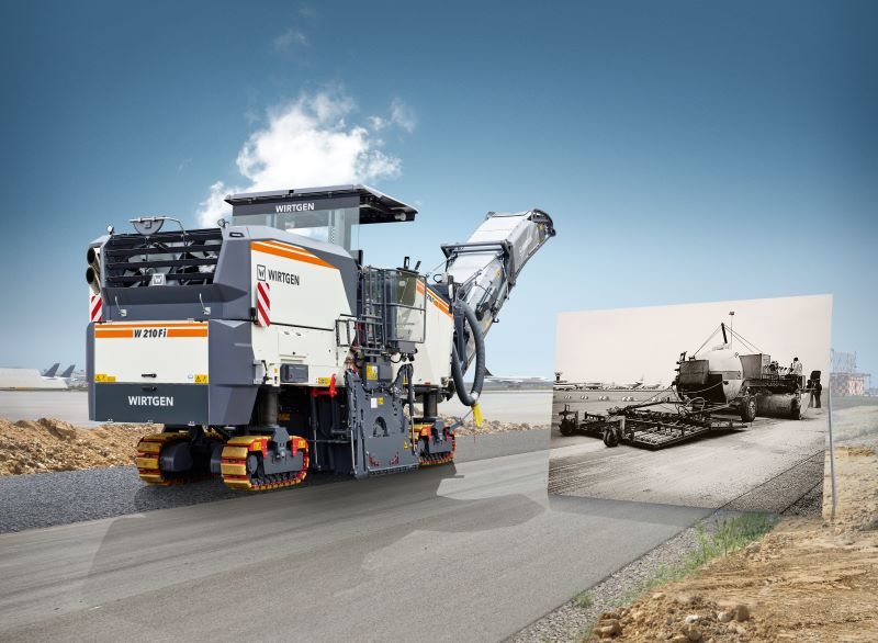 Wirtgen Turning 60 – A Driver of Innovation with a Rich History