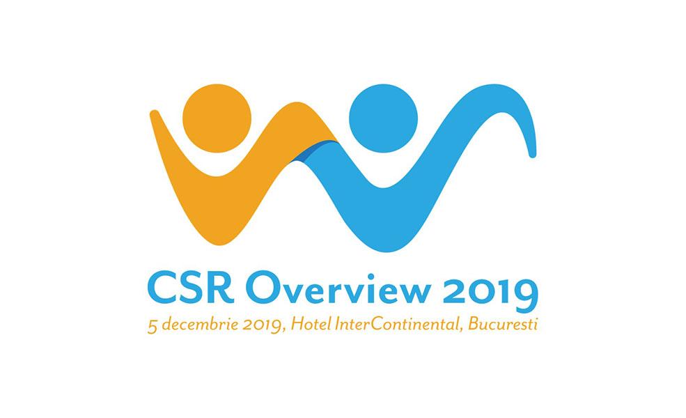 Despre responsabilitate sociala si sustenabilitate, la cea de-a 7-a editie a CSR OVERVIEW 2019