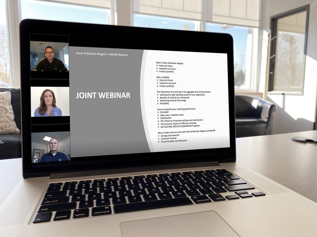 MAJOR and Haver & Boecker Niagara Collaborate to Improve Customer Screening Efficiency
