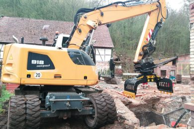 MB-G900 – Liebherr 918 – Germany – residential site (1)