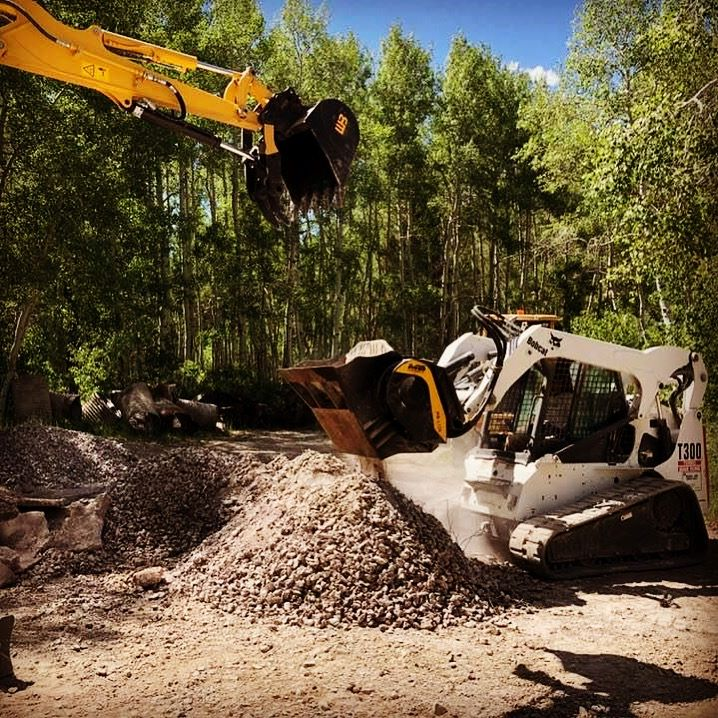 EASIER ACCESS FOR DIFFICULT, HIGH ALTITUDE CONSTRUCTION SITES. How the forestry industry is growing with MB Crusher's products