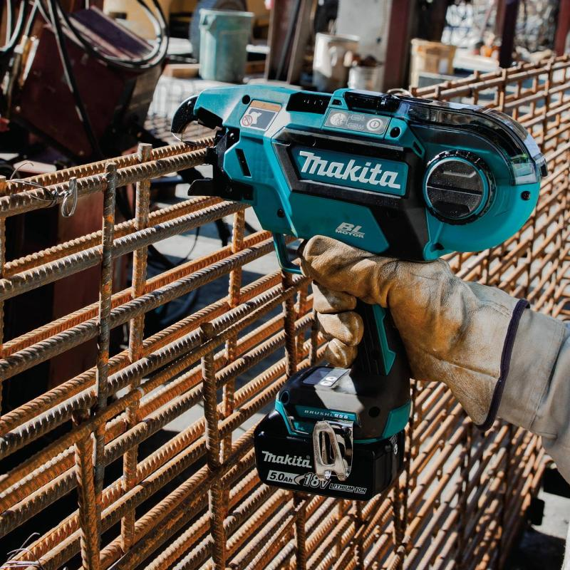 Makita Announces Cordless Rebar Tying Solution The 18V LXT® Rebar Tying Tool gives contractors time savings and ease-of-use