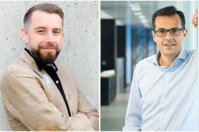 Mario Popescu, CEO Tailent (left) and Nuno Archer, CEO WinSig (right)