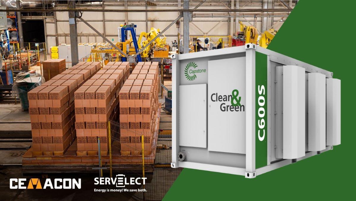 Cemacon si Servelect demareaza proiectul de cogenerare pentru cresterea eficientei energetice