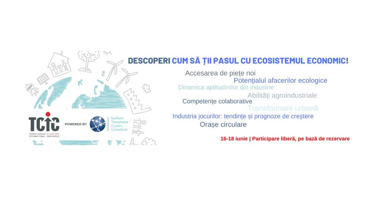 Conferinta clusterelor, editia sase –  evenimentul economic al anului in Transilvania