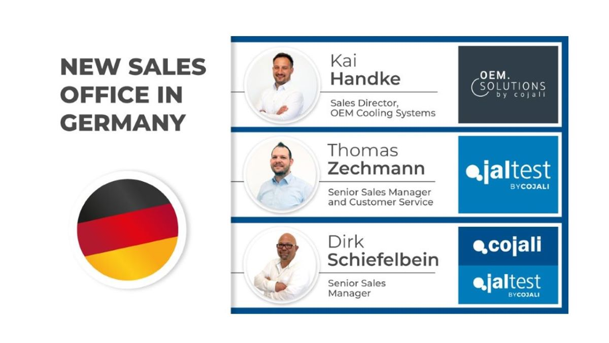 COJALI S. L. PRESENTS ITS NEW SALES OFFICE IN GERMANY